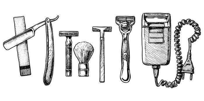 gängigste Rasierer Rasierer – der große Ratgeber rund um das Thema Haarentfernung und Rasur
