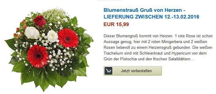 Gratis Blumenstrauß beim Kauf von Beauty Produkten im Wert von 40€ @ Amazon
