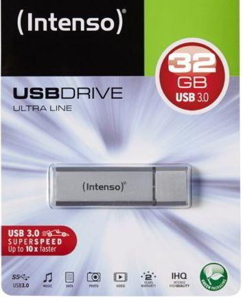 Intenso Ultra Line   32GB USB 3.0 Speicherstick für 7€ (statt 9€)