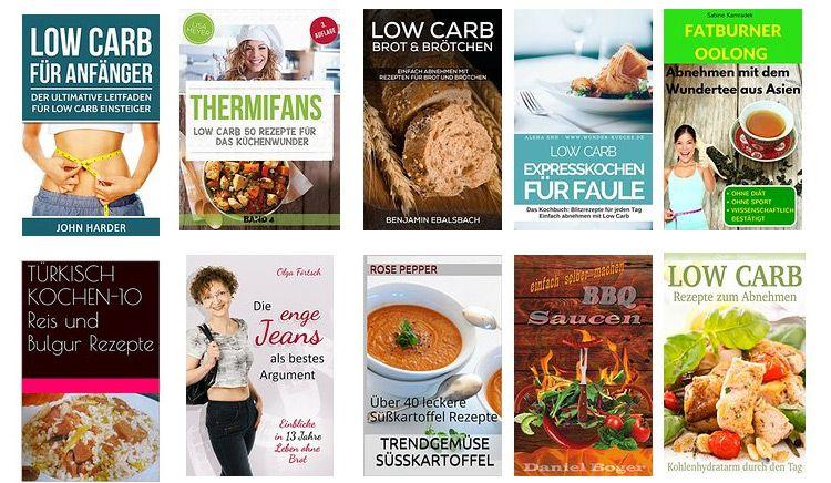 lowcarbkindle Kindle Ebooks zum Thema Essen und Ernährung gratis