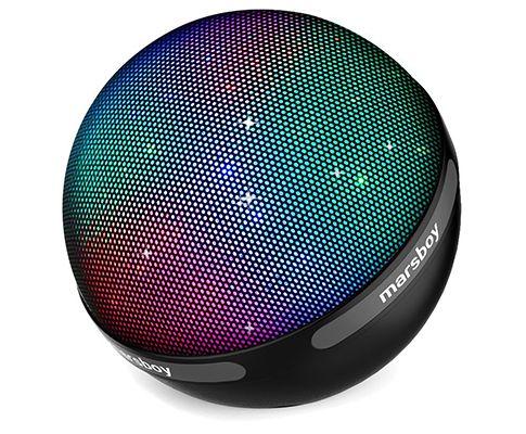 Marsboy Lautsprecher (Bluetooth) mit LED Farbwechsel für 33,99€ (statt 40€)