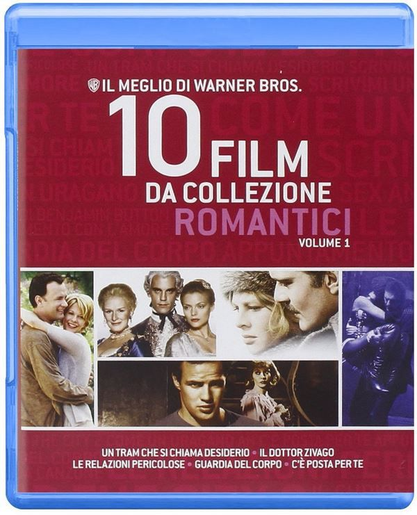 romantische Filme  Romantik Collection by Warner Bros.   10 Blu rays für 18,64€