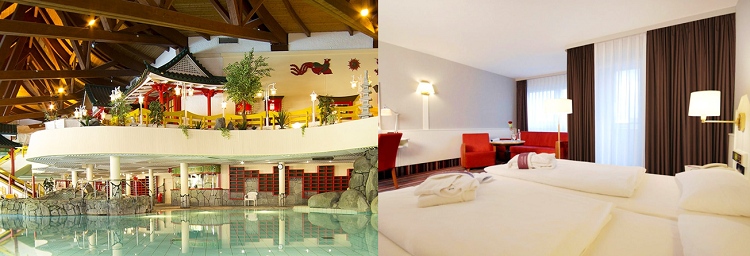 Taunus Therme + Übernachtung im 4 Sternehotel mit Frühstück ab 59€ p.P.