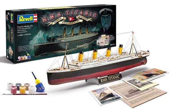 Revell Modellbausatz 100 Jahre Titanic für 18,22€ (statt 29€)