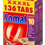 Ausverkauft! Somat Multi 10 Tabs – Geschirrspültabs 272 Tabs für 35,98€ oder 408 Tabs für 50,98€