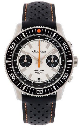 6449€ Gigandet Speed Timer   Herren Chronographen (Miyota Kaliber) gehärtetes Mineralglas für 73,11€