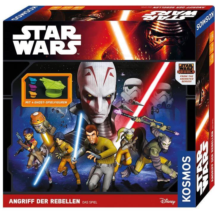 Angriff der Rebellen  KOSMOS Spiel zur TV Serie: KOSMOS Star Wars Angriff der Rebellen für nur 4,23€