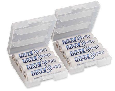 8er Pack Ansmann maxE Pro AA Akkus für 14,95€ (statt 21€)