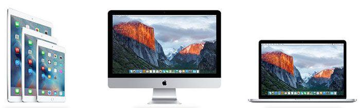 Apple Rabatt Bis zu 200€ Rabatt auf Apple Produkte   z.B. Macbook Air 2015 ab 819€ (statt 888€)