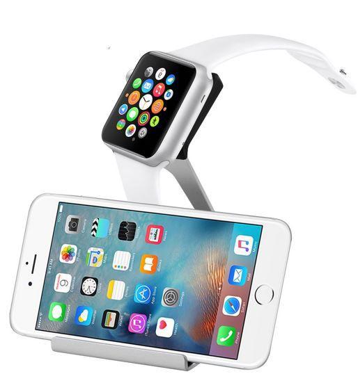 Apple Watch Halter moobom Promo: Apple Watch Aluminium Halterung mit Dock ab 5,88€