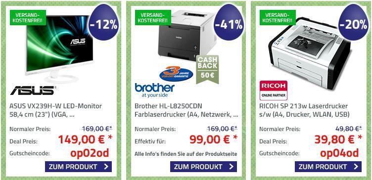 Office Partner   Oster Angebote   z.B. günstige Drucker