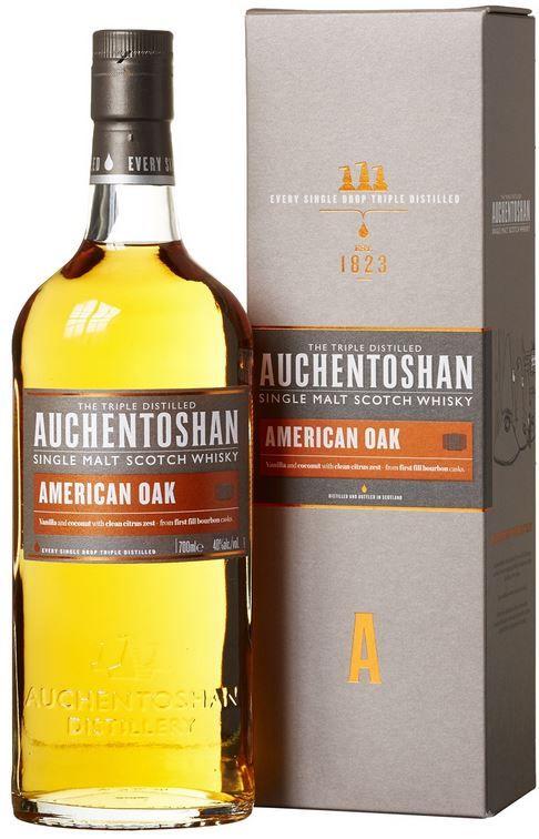 Auchentoshan American Oak Auchentoshan American Oak Single Malt Scotch Whisky (1 x 0.7 l) für 26,99€