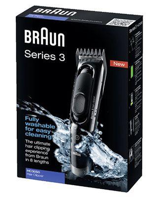 BRAUN HC 3050 Braun HC 3050 Haarschneider für 22€ (statt 30€)