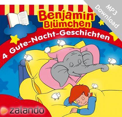 Gratis 4 Benjamin Blümchen Gute Nacht Geschichten als MP3 Download