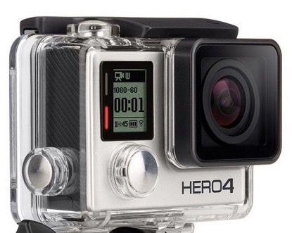 GoPro HERO 4 Silver   Actionkamera mit WiFi (refurb.) für nur 219,90€