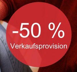 50% Verkaufsprovision geschenkt bei eBay   für max. 50 Angebote!