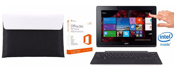 Acer Aspire Switch 10 E   10 Zoll Convertible Notebook ab 185€ (statt 259€)