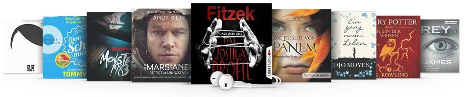 3 Monate Audible für 8,85€ (insgesamt & inkl. 3 Hörbücher)