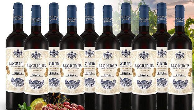 Bildschirmfoto 2016 03 11 um 13.15.53 10 Flaschen Rodriguez Rioja Lacrimus für 47,90€