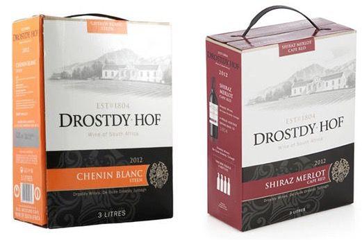 9 Liter Drostdy Hof Weiß  oder Rotwein für je 14,90€ (statt 20€)