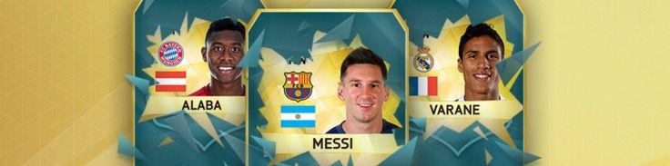 Gratis FUT (FIFA 16 Ultimate Team) Gold Set