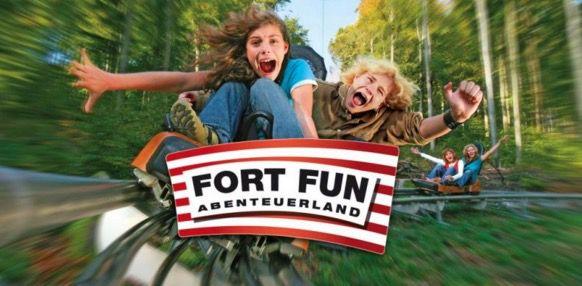 Eintrittskarten für den Fort Fun nur 18,50€ statt 27€