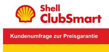 Gratis 1.000 Shell ClubSmart Punkte für kurze Umfrage