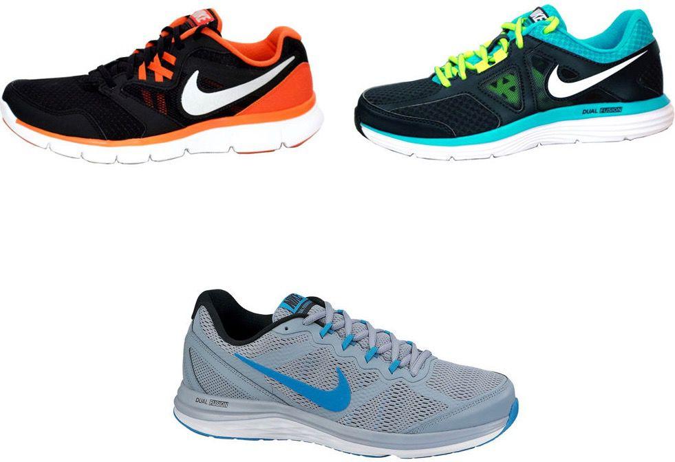 Nike Dual Fusion Run MSL Herren Sportschuhe für 39,99€