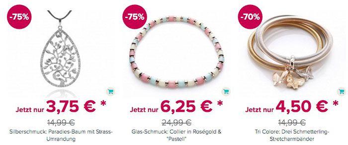 Silvity: Schmuck Ausverkauf mit bis 80% Rabatt + 5€ Gutschein