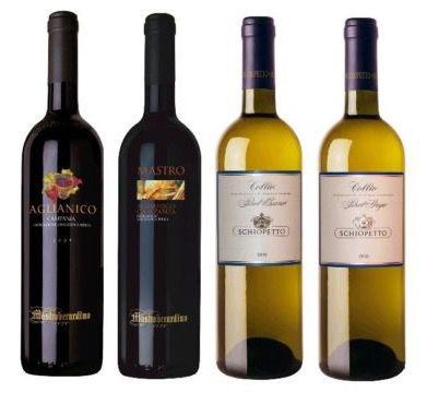 6 Flaschen italienische Gourmet Weine für 14,99€