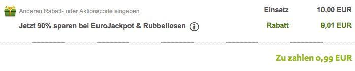 Bildschirmfoto 2016 07 06 um 15.18.12 Lottoland: 3 Tippfelder Eurojackpot (90 Mio. Jackpot!) + 15 Rubellose für 0,99€ für alle Neukunden