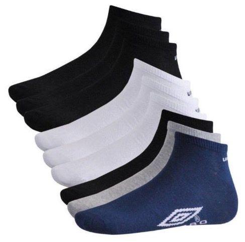 12er Pack Umbro Unisex Sneaker Socken für 12,95€ (statt 20€)