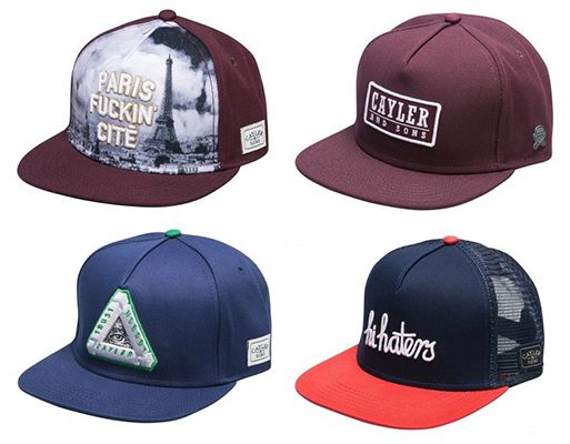Cayler & Sons Snapback Caps in vielen Farben ab 14,99€