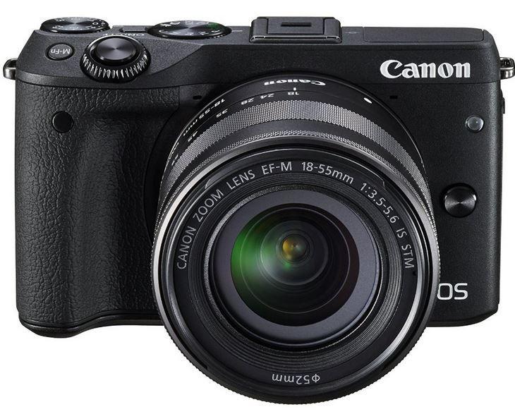 Fehler? EOS M3 Systemkamera + EF M 18 55 mm IS STM Objektiv + Zubehör Kit statt 500€ für 352,25€