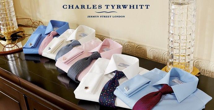 Charles Tyrwhitt Gutscheine mit 50% Rabatt   gültig für das reguläre Sortiment!