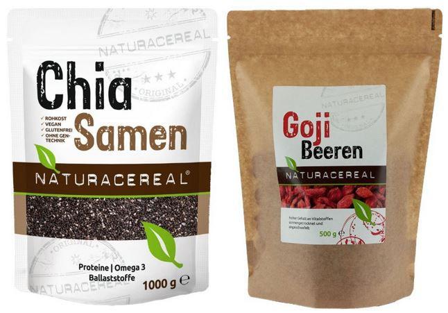 Chia Samen1  Goji Beeren + Chia Samen heute günstig als Amazon Tagesangebot