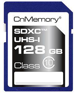 CnMemory 128GB SDXC CnMemory 128GB SDXC Speicherkarte Class 10 für 29,99€ (statt 37€)