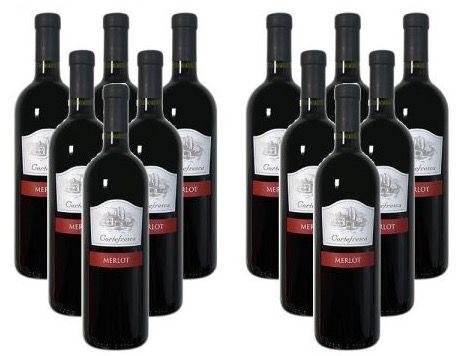 12 Flaschen Cortefresca Merlot delle Venezie für 47,88€