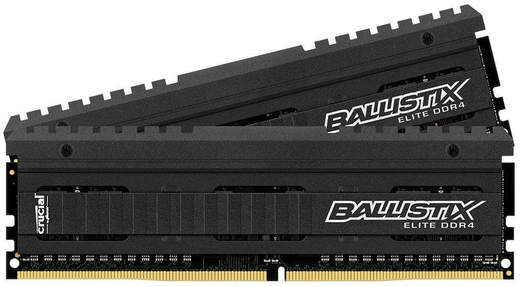 Crucial Ballistix Crucial Ballistix Elite DDR4 2666 16GB RAM (2x8) für 64,63€ (statt 82€)