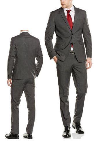 ESPRIT Collection Herren Anzug mit Seitenschlitzen statt 200€ für 99,99€