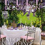 6 Ausgaben Elle Decoration nur 1€ durch 35€ Verrechnungscheck
