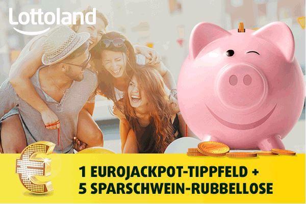 Eurojackpot Knack den 61.000.000 €urojackpot + 5 Rubbellose für nur 1€