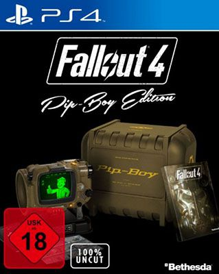 Fallout 4 Uncut Pip Boy Fallout 4 Uncut Pip Boy Edition (PS4) für 63,97€ (statt 115€)   Warehousedeal!