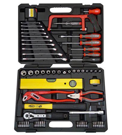 Famex 145 55 Universal Werkzeugkoffer 67 tlg. für 52,98€ (statt 70€)
