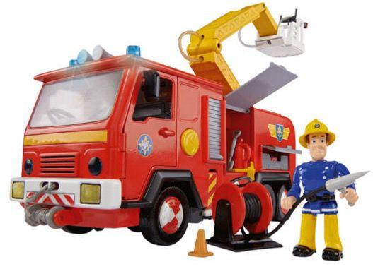 Feuerwehrmann Sam Jupiter Wagen mit Figur für 26,44€ (statt 36€)