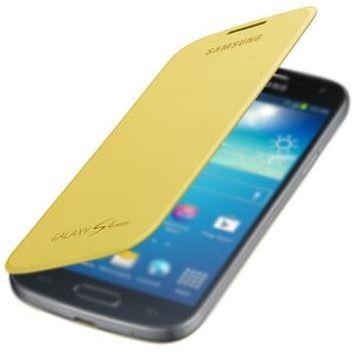 Samsung S4 mini Flip Cover in Gelb für 0,99€