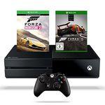 Xbox One 500GB Konsole inkl. Forza Horizon 2 + Forza Motorsport 5 für 299€