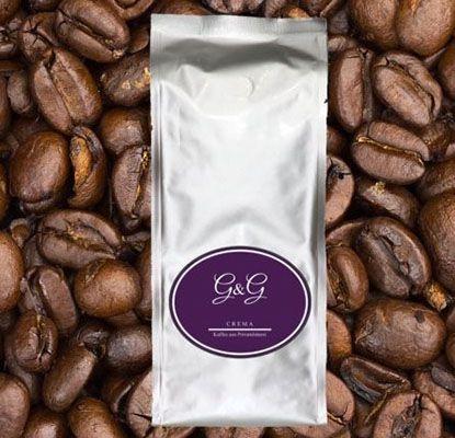 1kg G&G Kaffee Crema Bohnen bzw. Espresso Como Bohnen aus Privatröstung ab 13,86€