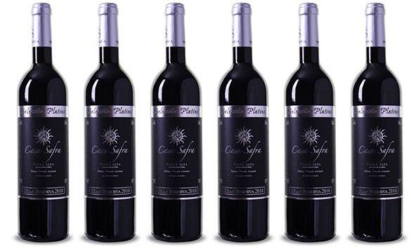 6 Flaschen Casa Safra Terra Alta DO Gran Reserva für 29€ oder 12 Flaschen für 49€