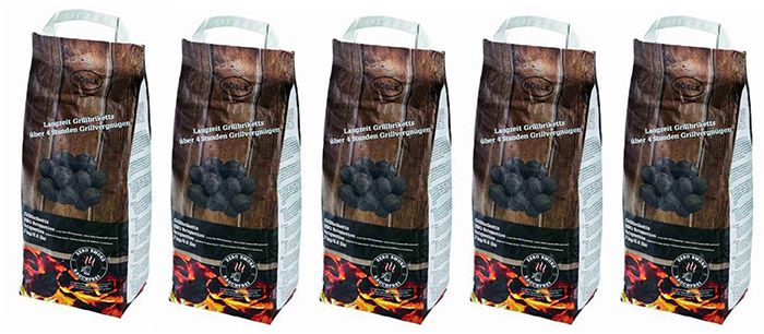 15kg Rösle Grillbriketts Zero Smoke für 14,40€ (statt 25€)